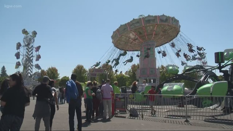 Food and fun at the Oregon State Fair, which runs through Labor Day