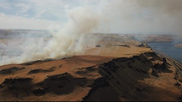 Wildfire in Columbia Gorge now 100 percent contained