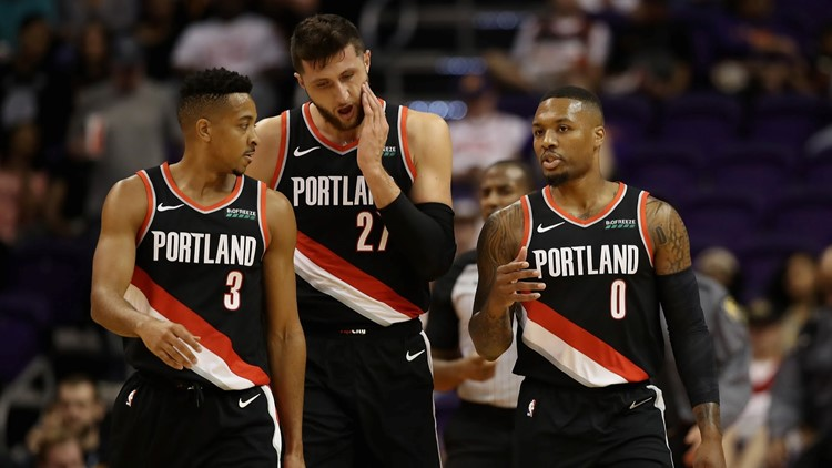 It's season preview time! How many wins for the Blazers? Will they make the playoffs? Which players or teams will surprise the NBA this season? And who's going to win the major awards?