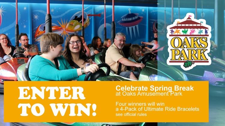 Celebrate Spring Break with Oaks Park!