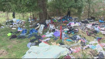 Homeowner ordered to clean homeless camps