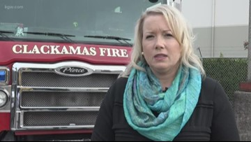 Woman survives fire, urges others to change smoke alarm batteries