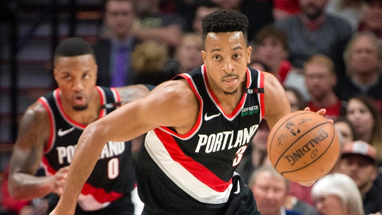 Blazers' McCollum named player of the week for first time in career