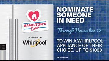 Nominate someone to win an appliance from KGW and Hamilton's Appliance, sponsored by Whirlpool