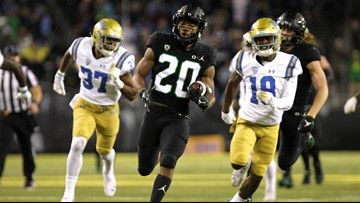 Ducks down the Bruins 42-21 to become bowl eligible