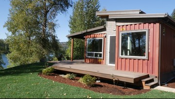 Portland developer builds homes from shipping containers