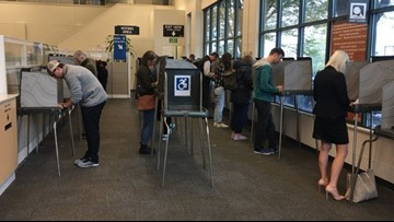 Voter turnout strong Tuesday in Multnomah County