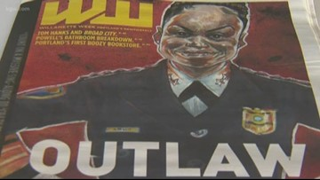 'Overt racism': Police union calls out Willamette Week for caricature, article on Chief Outlaw