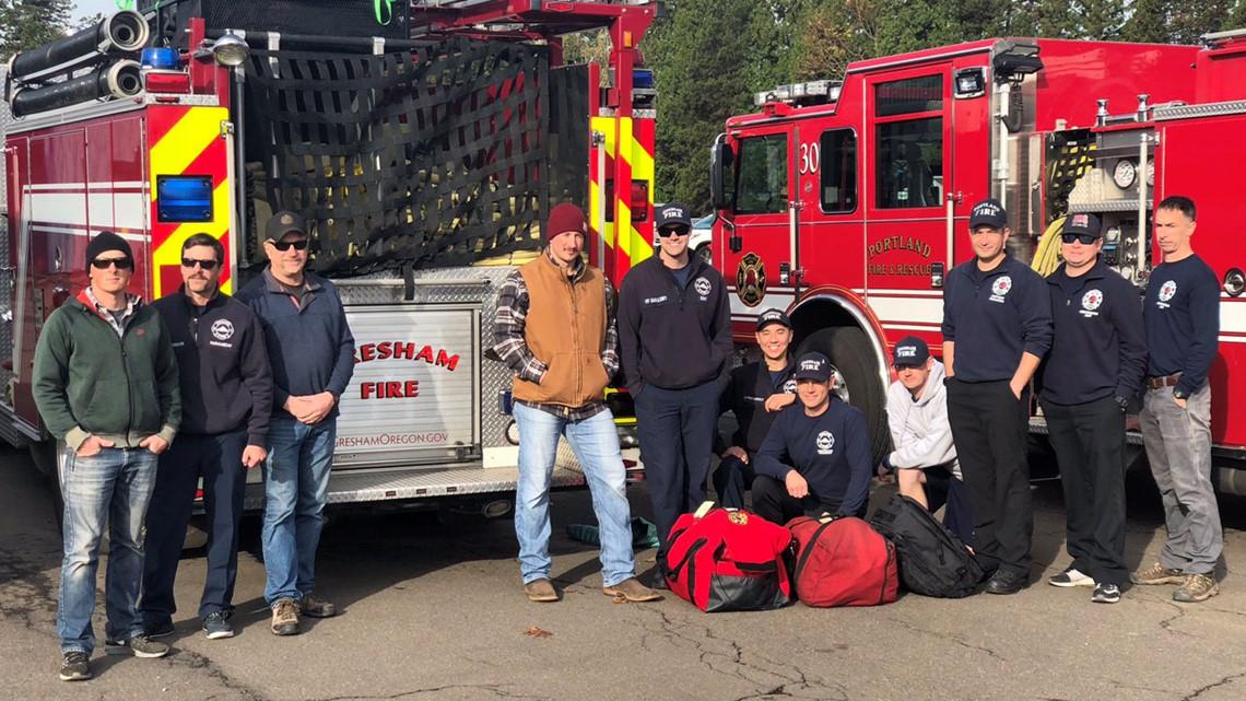 Oregon sends 15 strike teams to fight devastating California wildfires