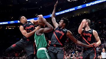 Blazers win fourth straight, hold off Celtics 100-94