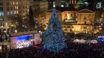 Join us for the 34th Annual Portland Tree Lighting Ceremony and singalong