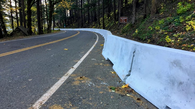 6-mile stretch of Historic Columbia River Highway reopens for first time since Eagle Creek Fire