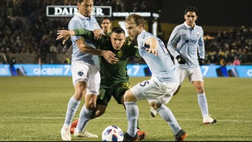 Timbers and Sporting KC open conference finals with 0-0 draw