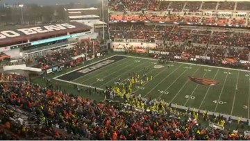 Oregon State sold $714,298 in beer and wine at football games this season