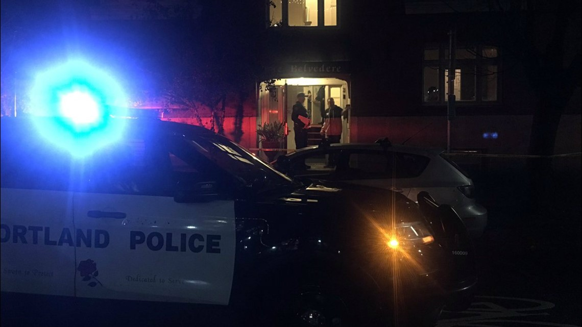 Man shot and wounded in Northwest Portland; suspect at large