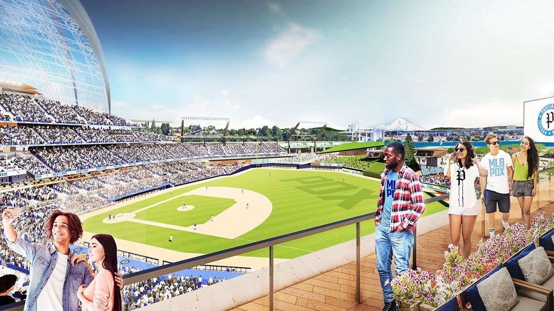 Portland Diamond Project announces plan to build MLB stadium at