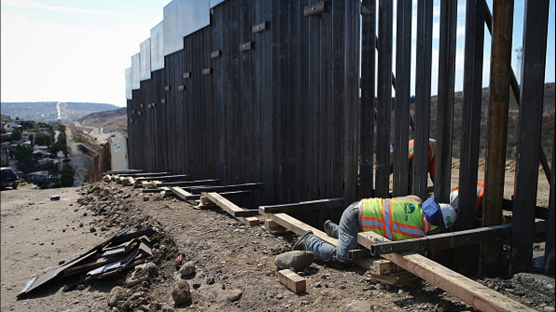 Gate construction to help close gaps in border fencing in South Texas