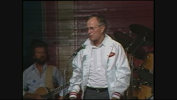Archive video: George H.W. Bush in Oregon