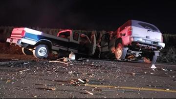 Two Saturday night crashes in rural Clackamas County kill three, injure one