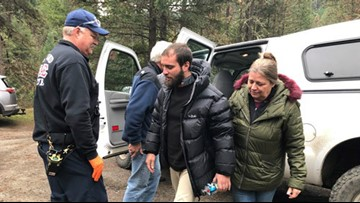 Missing snowboarder found alive after 2 nights alone in southern Oregon wilderness