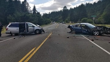 1 killed, 5 injured in Marion County crash
