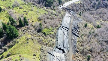 Highway 101 reopens at Brookings as crews continue to clear landslide