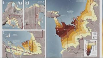 Good to know: Maps show evacuation time for tsunami