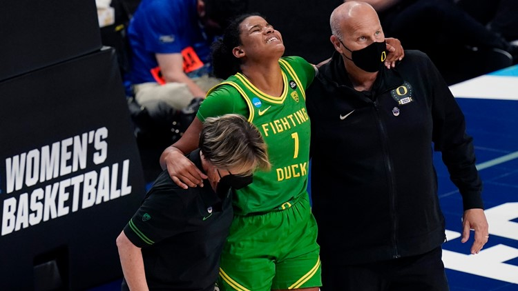 Louisville beats Oregon 60-42, heads to women's Elite Eight