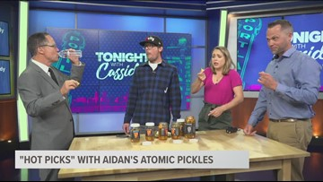How spicy are Aidan's Atomic Pickles?