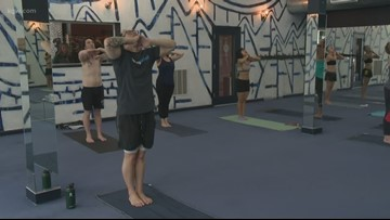 Yoga studio remembers student with cancer fundraiser