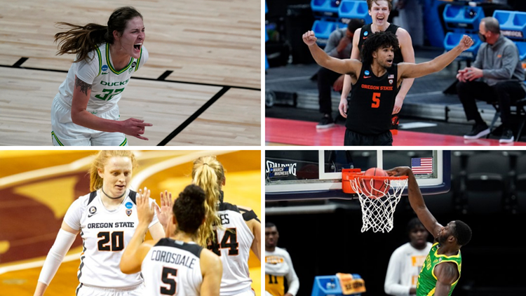 Ducks, Beavers undefeated so far in men's and women's NCAA tournaments