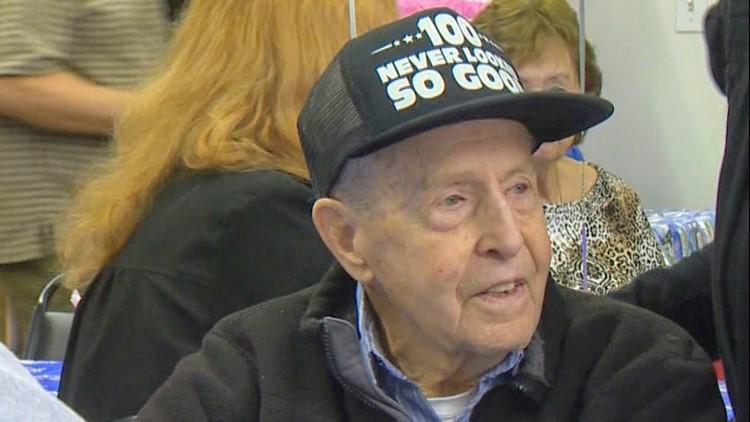 Portland World War II Veteran Celebrates 100th Birthday