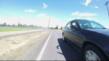 Passenger in car threatens Washington County bicyclist with knife