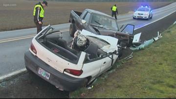 Head-on crash on Jackson School Road in Washington County