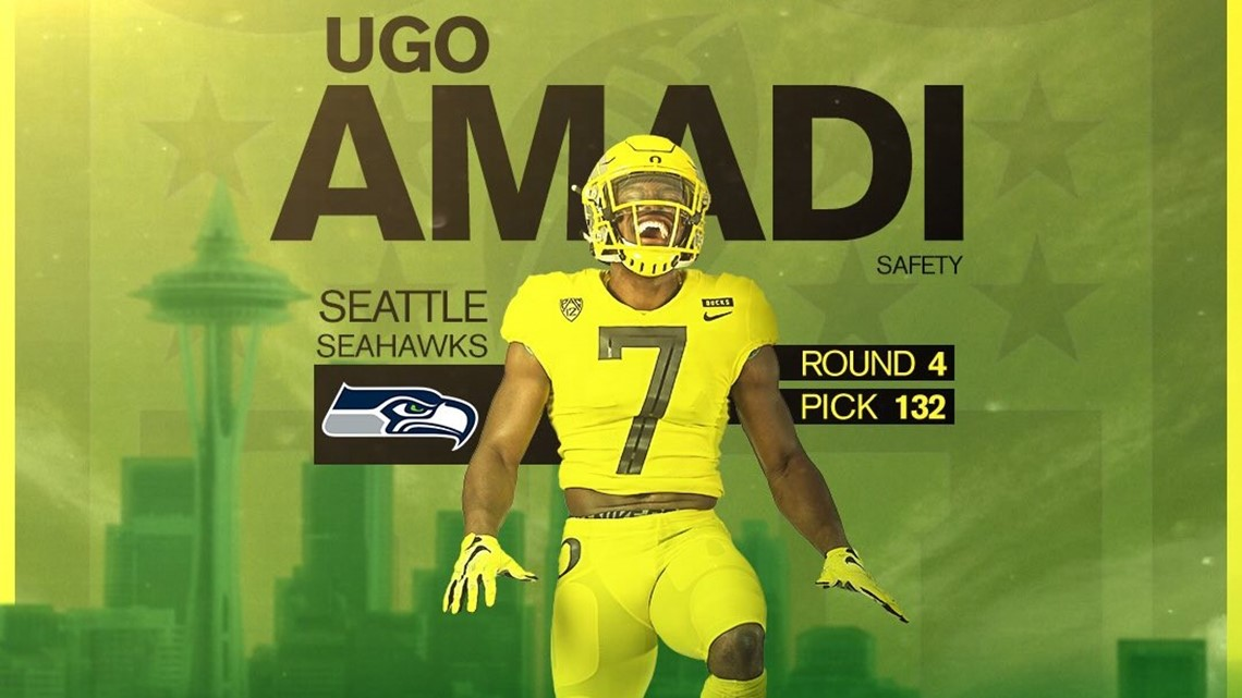Ugo Amadi first Oregon Duck picked in 2019 NFL Draft, selected by Seahawks