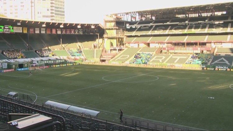 Portland Timbers, Thorns increase capacity to 80% at Providence Park