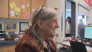 'She just makes us feel special': Hockinson High School seniors raising money for substitute teacher