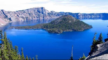 Man rescued after 800-foot cliff fall at Crater Lake