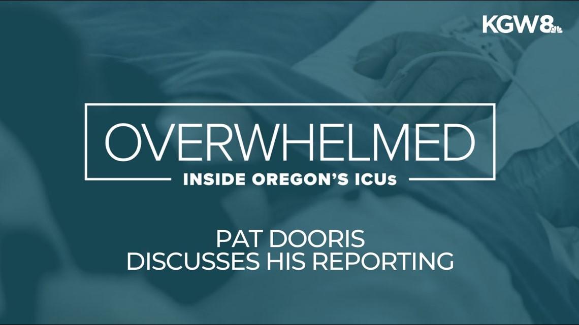 Pat Dooris reflects on reporting inside a Bend ICU