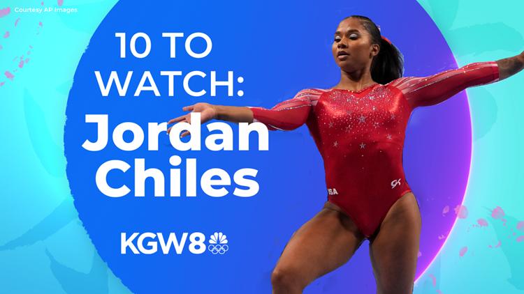 10 to Watch in Tokyo: Jordan Chiles