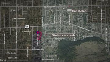 Search for gunman in SE Portland