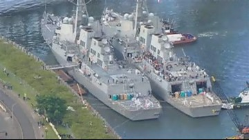 Fleet Week ends with departure of ships
