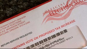 Nearly 100 ballots submitted day after election by Defend Oregon, state investigating