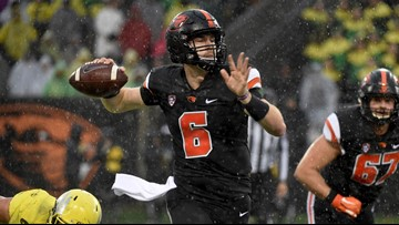 Beavers quarterback Jake Luton granted extension by NCAA, will return in 2019