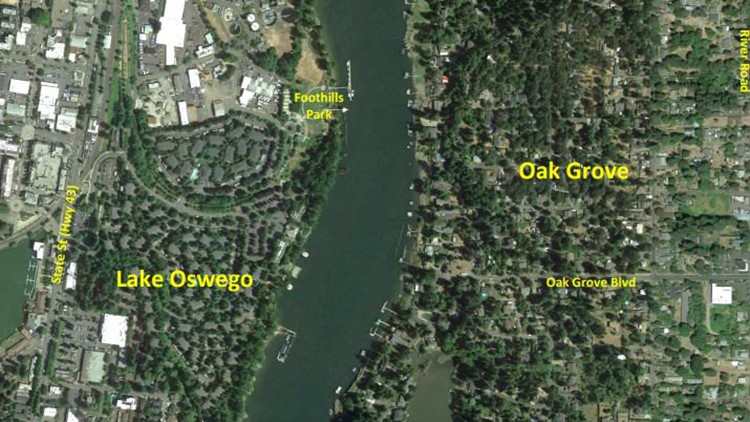 Car-free bridge proposed for Clackamas County