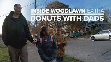 Inside Woodlawn Extra: Dads bond with kids over donuts