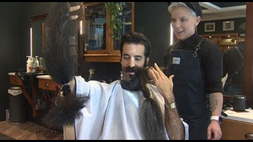 World's Best Beard gets SHAVED OFF for Giving Tuesday