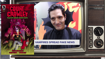 Actor David Dastmalchian's new Dark Horse comic mixes classic horror and cable news like you wouldn't believe