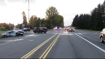 One dead, one injured in crash near Stayton