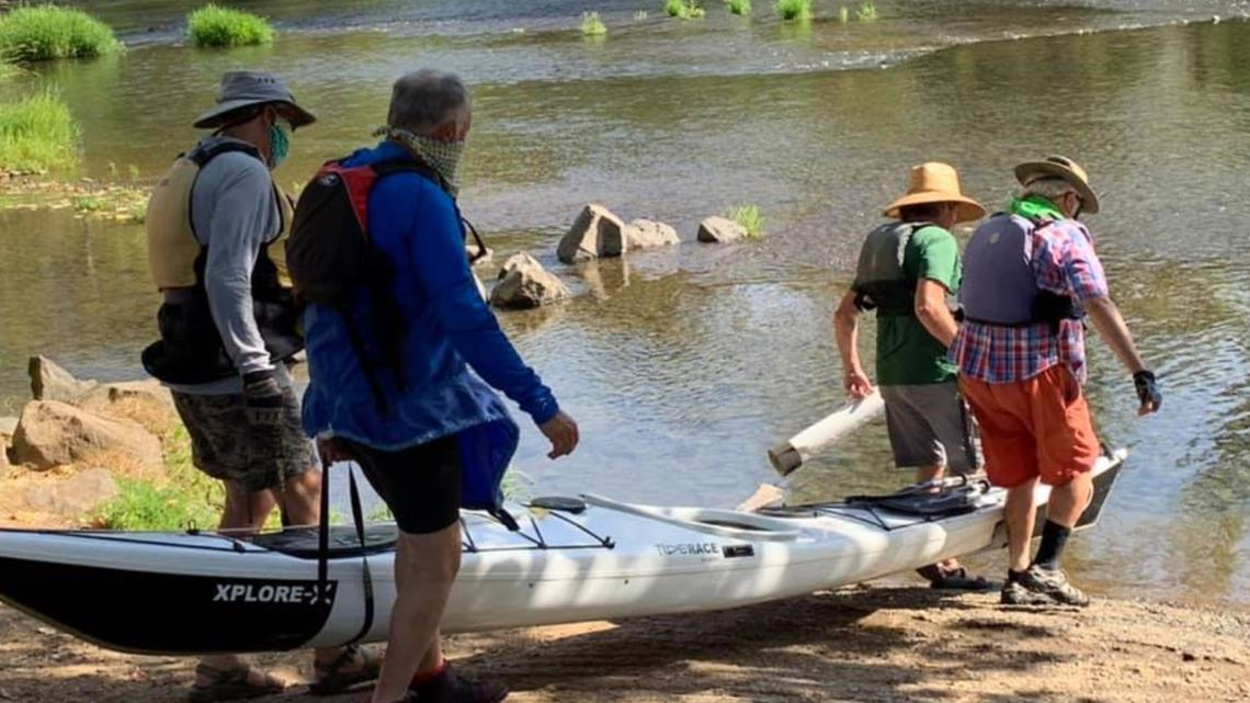 Oregon group paddles 187 miles on Willamette for river conservation